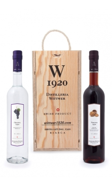 Grappa & Nocino W1920 (Wood box)
